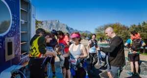 Cape Town Marathon Trail Run Water Station