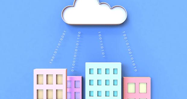 3D Cloud Computing graphic