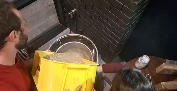 Darling Brew brewer at work