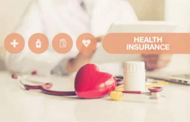 Graphic representing health insurance