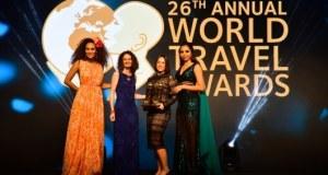 Mantis receiving two awards at World Travel Awards 2019