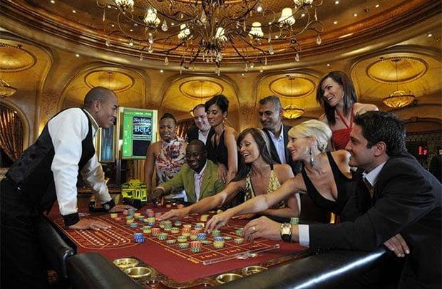 Emperors Palace Casino gamblers at play