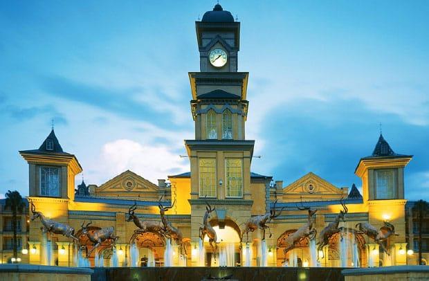 Gold Reef CityCasino building entrance