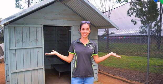 Natalie Giumelli, owner of Yapper Valley Pet Resort