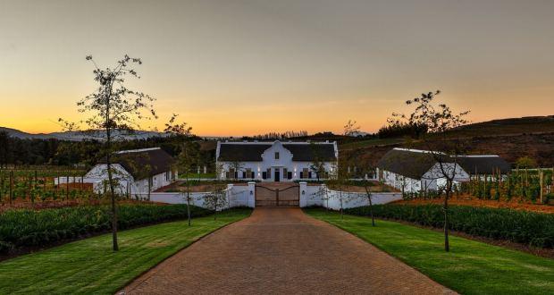Image of wine estate entrnce