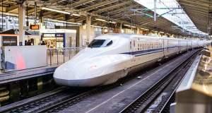 Japan's Chuo Shinkansen train