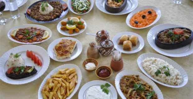 Old Greek House Restaurant, Turkey, food dishes
