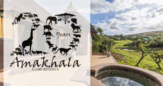 Amakhala Game Reserve 20-year logo