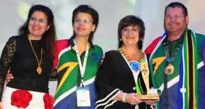 Maria Teresa Diaz, Lara Mostert, Lavonne Wittman, and Andrew Rogers.
