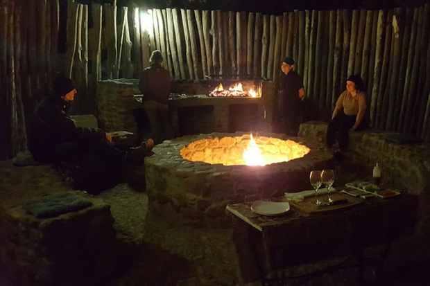 Boma bonfire at Kuganha Tented Camp