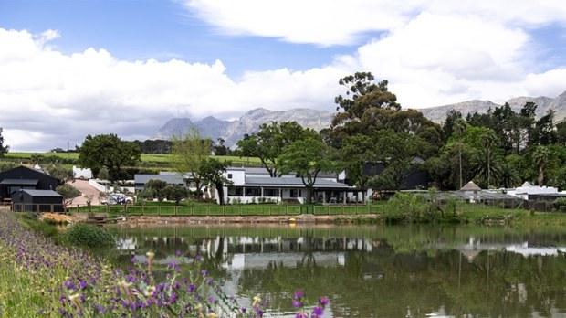 Lake view of Ashia Cheetah Sanctuary