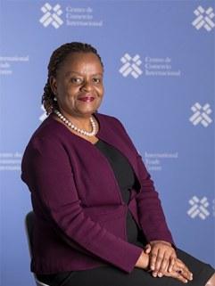 Dorothy Tembo, acting Executive Director at ITC