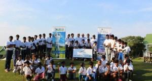 IMAGE: Young golfers at Fish River Resort