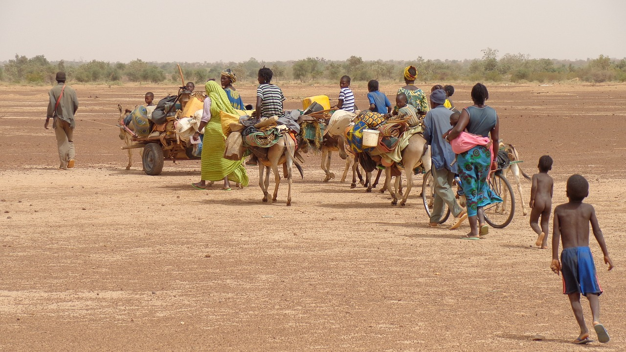 water shortage conflict and migrants