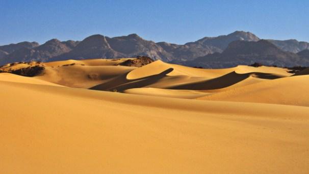 The Sahara Desert, image from http://www.tourist-destinations.com