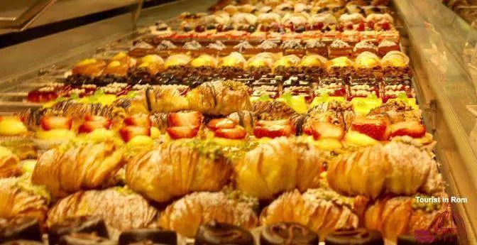 Pastries in Rome Bars und Konditoreien in Rom