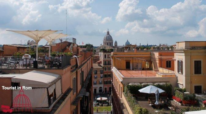 Essen und Schlafen in Rom