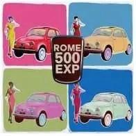Individuelle Touren in Rom Fiat 500