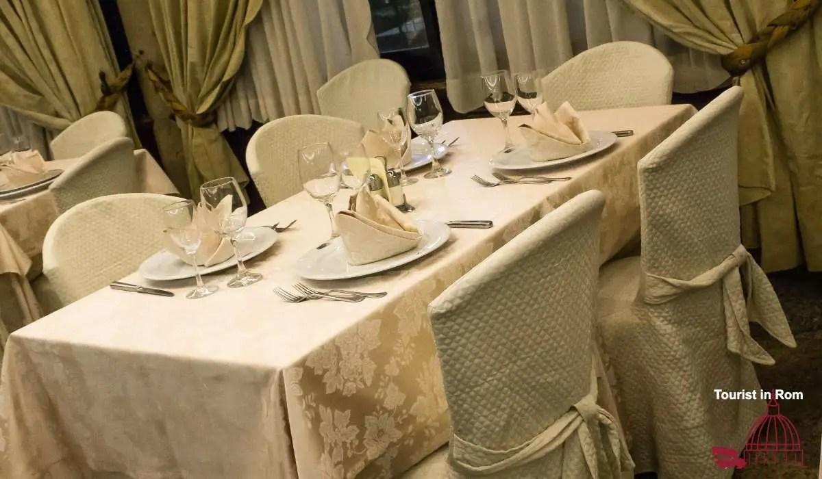 Rom Restaurants für gehobene Anlässe