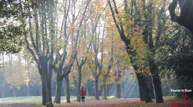 Jogging in Rome · City jogging · Running in parks and villas