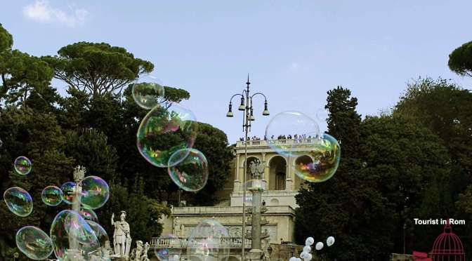 Rom mit Kindern Rome with kids Bubbles