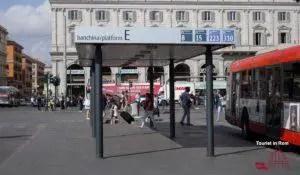 Rom Termini Busbahnhhof