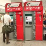 Ticketautomat italienische Bahn