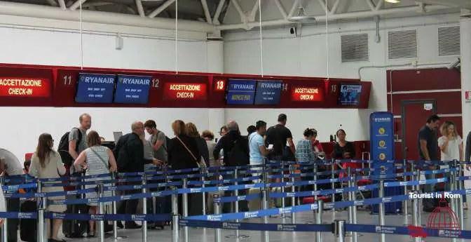 Ciampino Airport check in