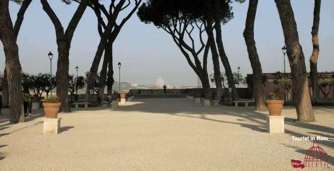 Aussichtspunkt Rom Orangengarten