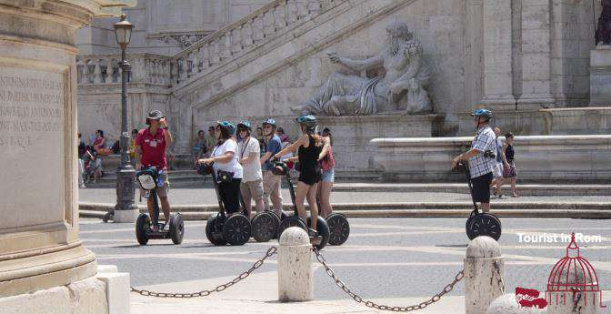 Guided Segway tours Rome