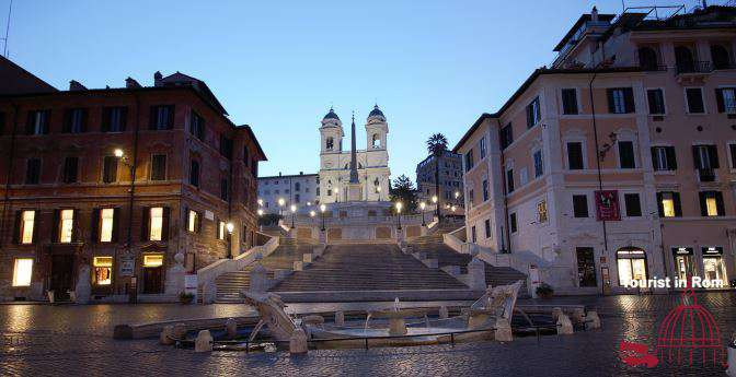 Bellezze di Roma Attractions in Rome Spanish Steps
