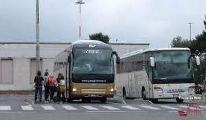 Transfer zwischen Ciampino und Rom Bus