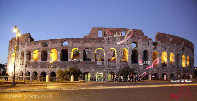 Colosseum · Entrance · Opening hours