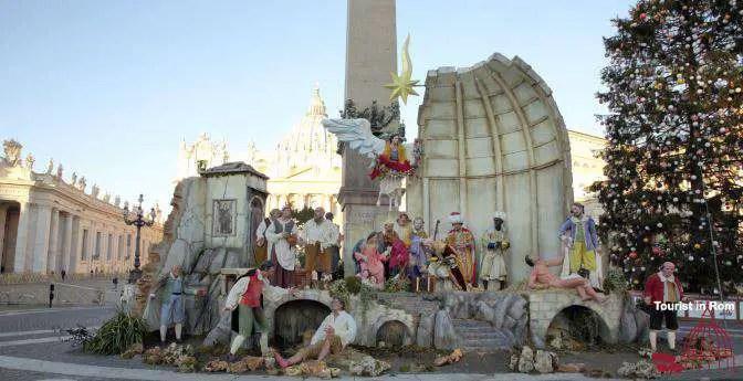 Rom Weihnachten 2018 · Krippen · Museen · Restaurants · Märkte