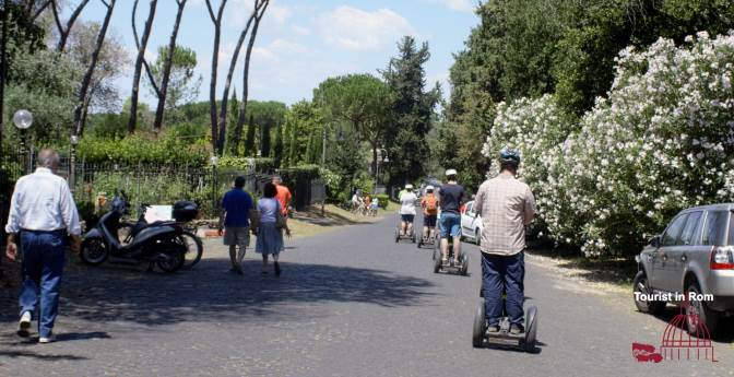Appia Antica with Segway