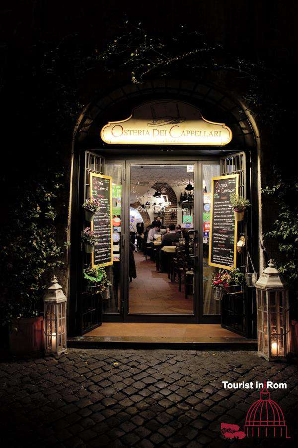 Restaurants in Rom zu Weihnachten und Silvester · Tourist in Rom