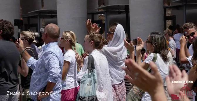 Drei Tage in Rom · Sonntagvormittag · Engelsburg und Angelus