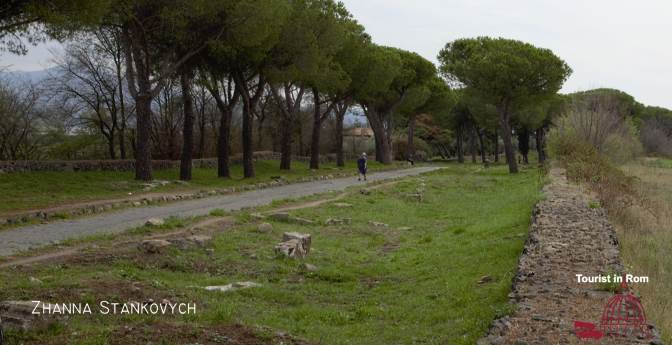 Drei Tage in Rom · Sonntagnachmittag · Via Appia Antica und Katakomben