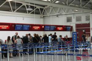 Flughafen Rom Ciampino · Orientierung · Ankunft · Abflug