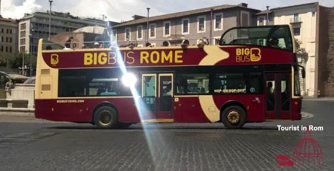 Hop on Hop off Rom · Linien · Sofortbuchung