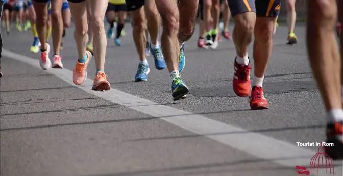 Rome half marathon via Pacis Rom Halbmarathon Via Pacis