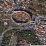 Colosseum satellite photo