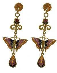 Wooden Cross Pendants: Homesilver Butterfly Earrings