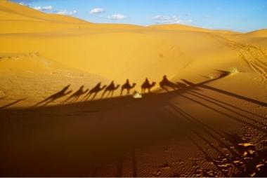 Sahara desert Merzouga Erg Chebbi