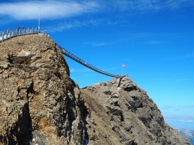 Glacier3000 cliff walk