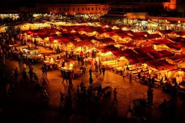 marrakech medina nigth visit