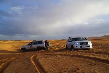 Journey in Desert Sahara