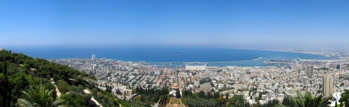 Haifa by Flickr user exothermic
