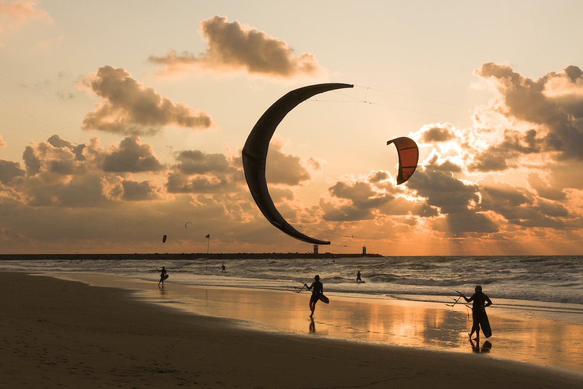 Full Day Private Kitesurfing Course In Israel