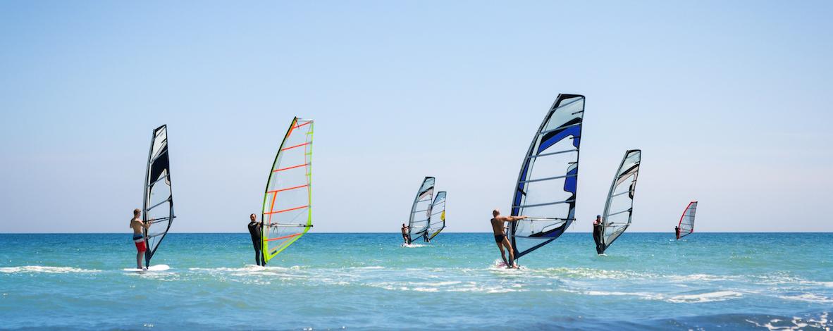 Windsurfing In Israel1